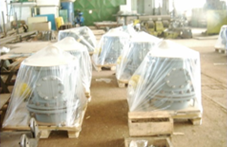 Pressure Vessels and Dust Inlet Valves