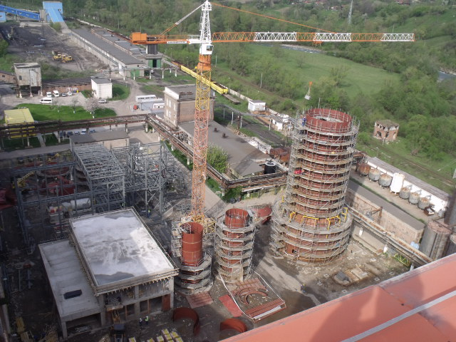 Paroşeni FGD & DSS Systems for Unit 4 of 150MW and hot water boiler of 103.2 Gcal/h , Paroşeni Power Plant