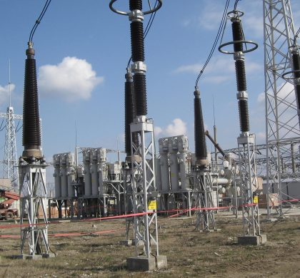 400/220/110 kV Brazi Vest Substation