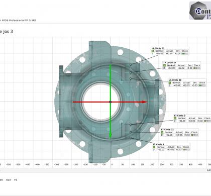 3D control measurements